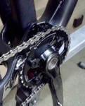 ceetec® Chainguard SL Kettenführung f. Low Direct Mount S3 / S2 schwarz, montiert