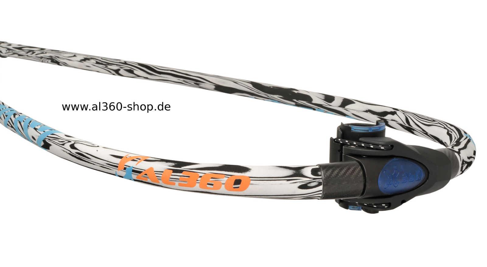 Die Front der AL360 Race Team Edition / RTE für Slalom o. Race