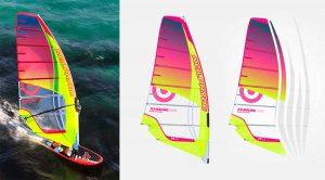 Farbe u. Design Neil Pryde RS Racing EVO9